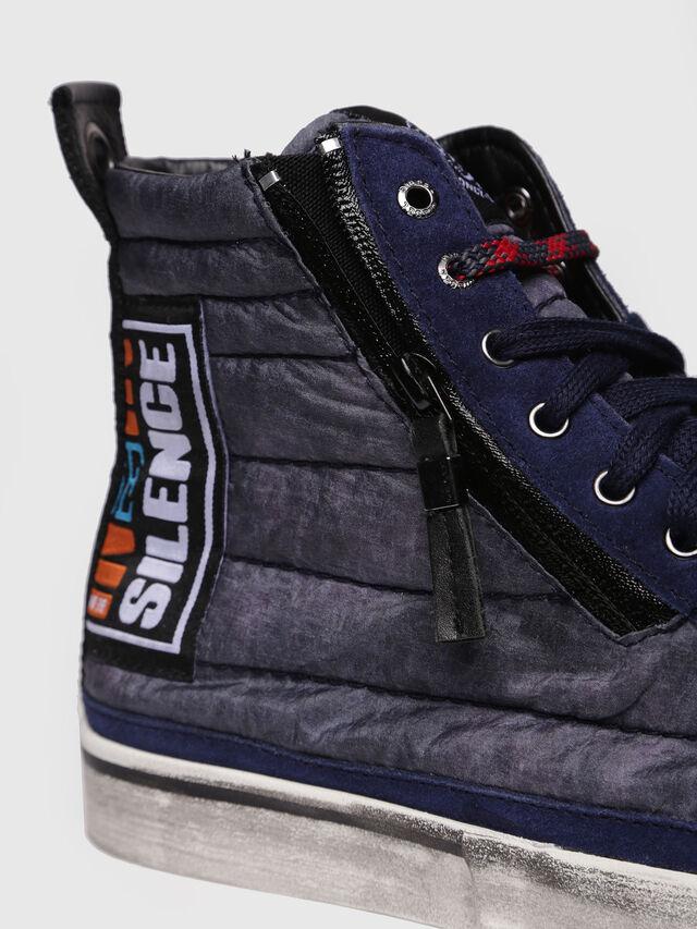 Diesel - D-VELOWS MID PATCH, Dark Blue - Sneakers - Image 4