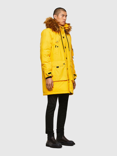 Diesel - W-COLBY, Yellow - Winter Jackets - Image 7