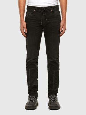 Thommer JoggJeans 009IC, Black/Dark grey - Jeans