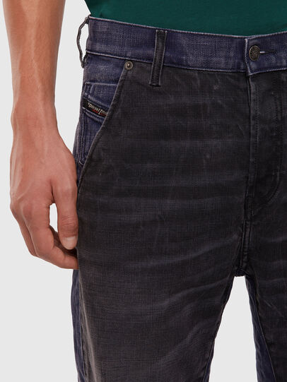 Diesel - D-Slack 009KZ, Black/Dark grey - Jeans - Image 3