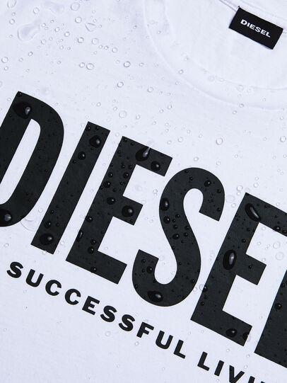 Diesel - T-DIEGO-LOGO, White - T-Shirts - Image 4