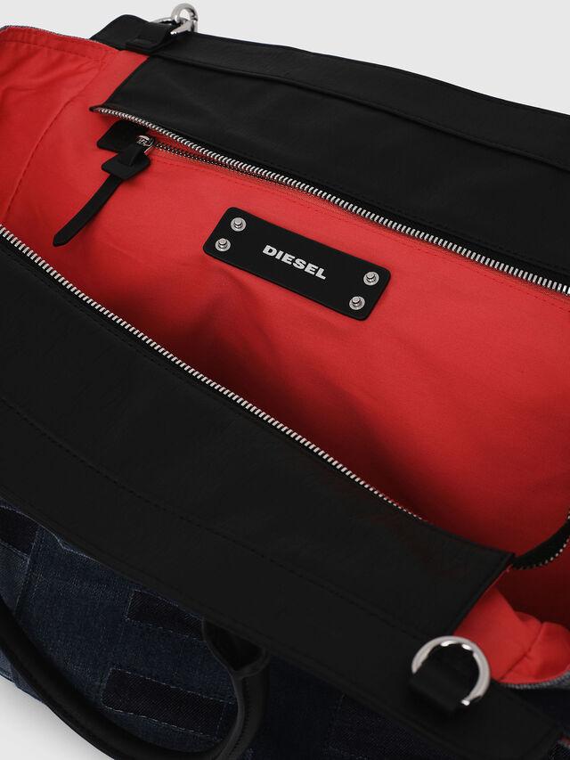 Diesel - F-DESTAR SHOPPER M, Blue Jeans - Shopping and Shoulder Bags - Image 4