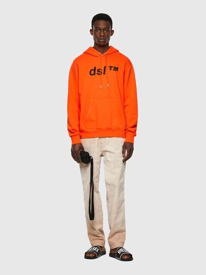 Diesel - S-GIRK-HOOD-B4, Orange - Sweaters - Image 4