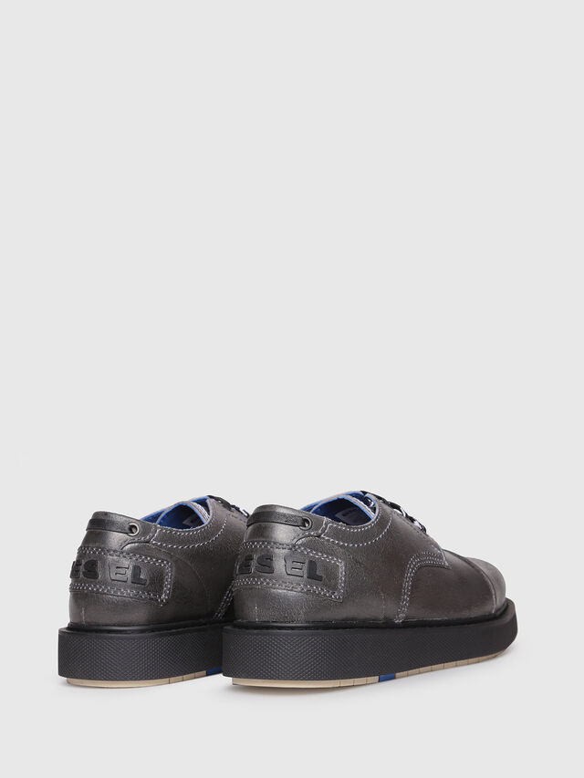 Diesel - D-CAGE DB CT, Grey - Lace Ups and Mocassins - Image 3