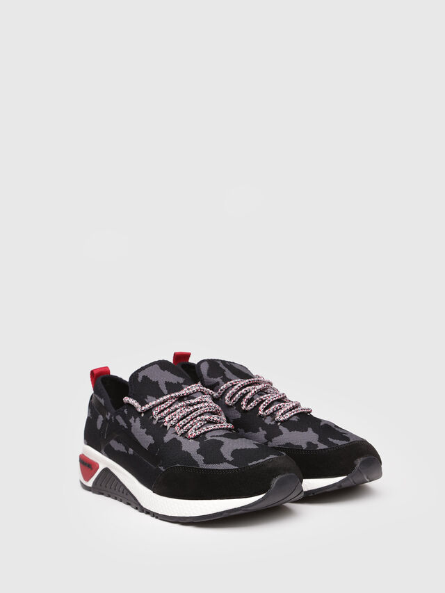 Diesel - S-KBY, Black/Grey - Sneakers - Image 2