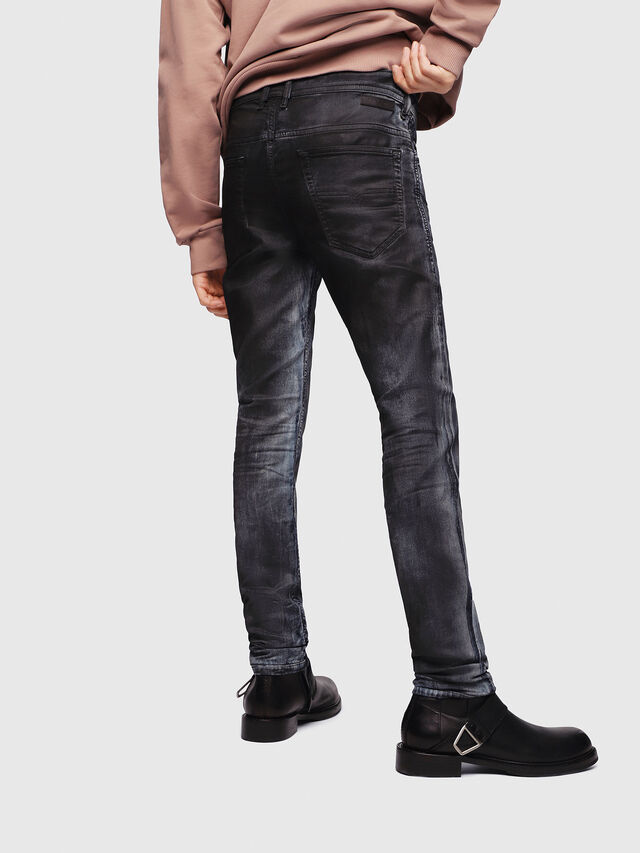 Diesel - Thommer JoggJeans 086AZ, Black/Dark grey - Jeans - Image 2