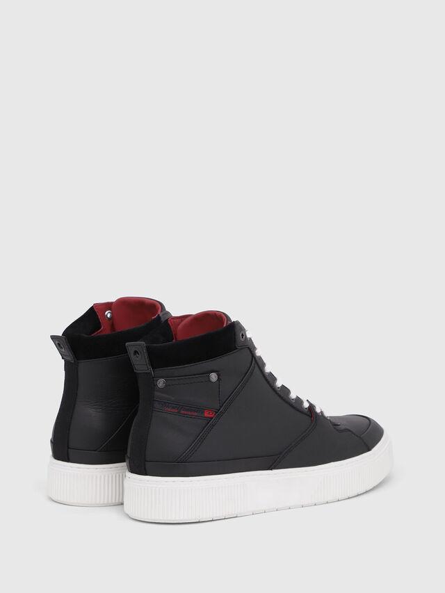 Diesel - S-DANNY MC, Black/Red - Sneakers - Image 3