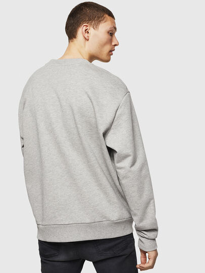 Diesel - S-CREW-DIVISION-D, Light Grey - Sweaters - Image 2
