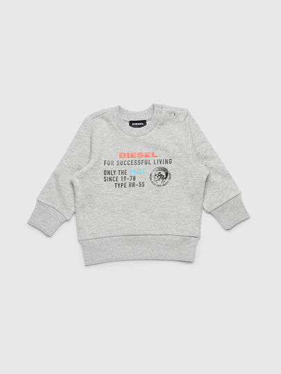 Diesel - SDIEGOXB, Light Grey - Sweaters - Image 1