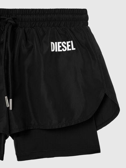 Diesel - UFLB-FAUSTIN-HIGH, Black - Pants - Image 3