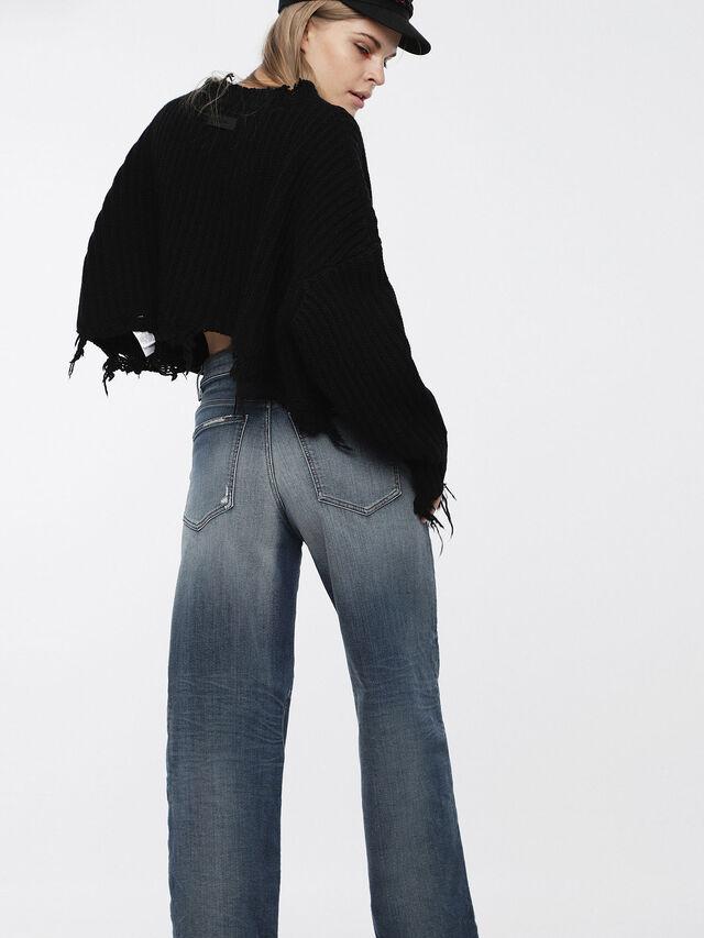 Diesel - Widee JoggJeans 084YP, Medium blue - Jeans - Image 2