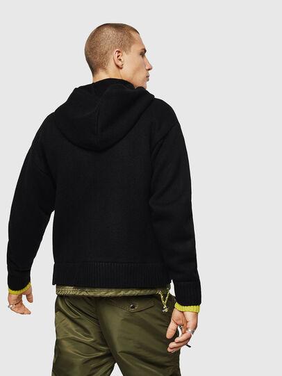 Diesel - K-NAVY, Black - Knitwear - Image 2