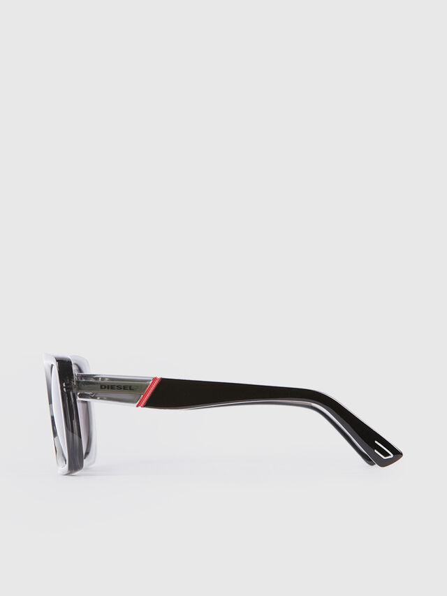 Diesel - DL0292, Gray/Black - Eyewear - Image 3