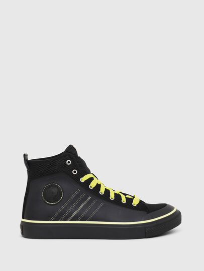 Diesel - S-ASTICO MC H, Black/Yellow - Sneakers - Image 1