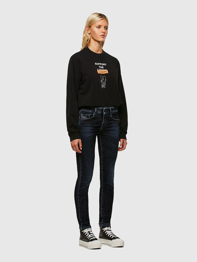 Diesel - D-Ollies JoggJeans® 069UH, Black/Dark grey - Jeans - Image 5