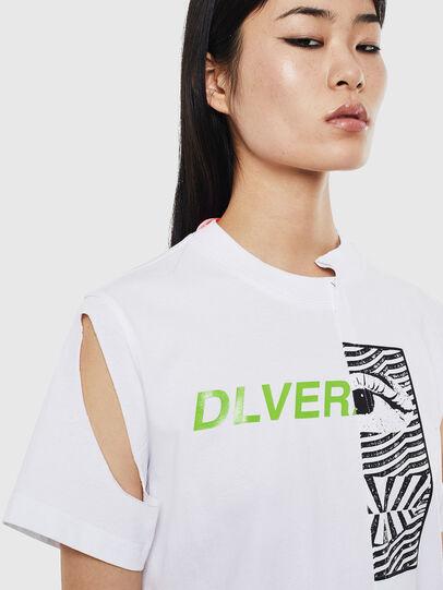 Diesel - T-GOMEZ, White - T-Shirts - Image 3