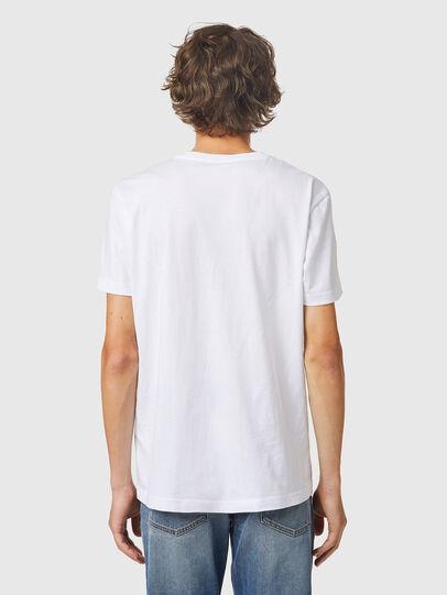 Diesel - T-DIEGOS-K24, White - T-Shirts - Image 2