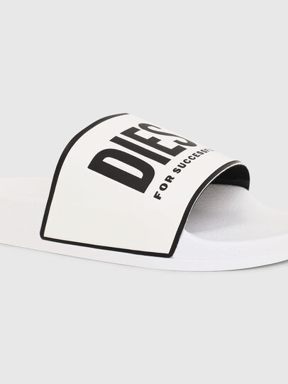 Diesel - SA-VALLA, White - Slippers - Image 4