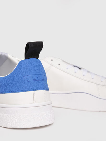 Diesel - S-CLEVER LOW, White/Blue - Sneakers - Image 4
