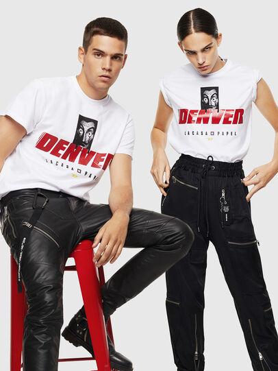 Diesel - LCP-T-DIEGO-DENVER, White - T-Shirts - Image 7