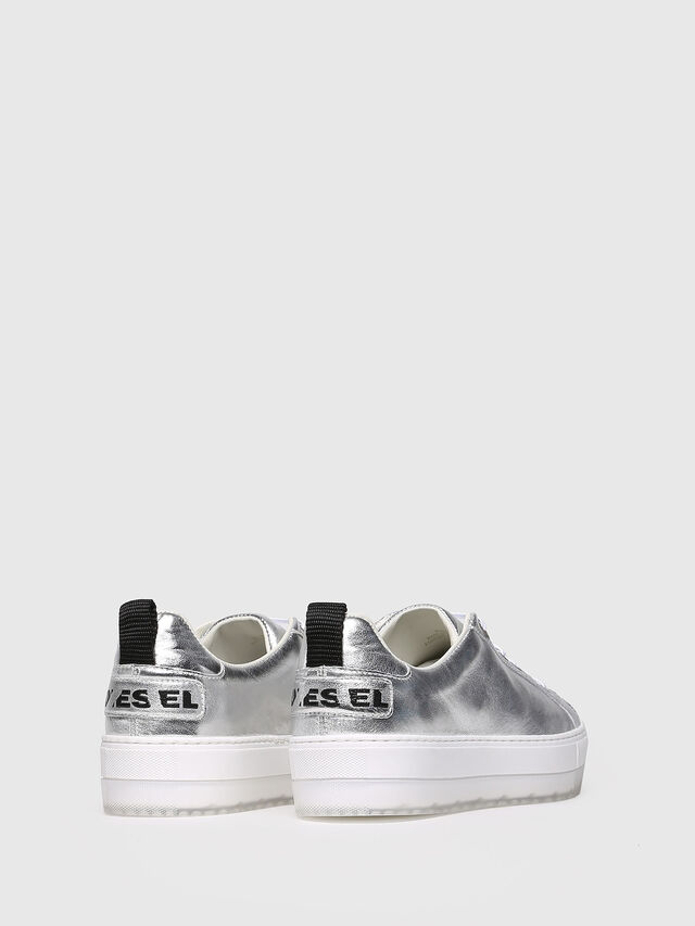 Diesel - S-LENGLAS LOW LACE, Silver - Sneakers - Image 2