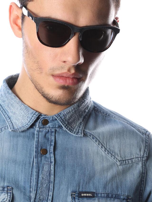 Diesel - DM0192, Dark Blue - Eyewear - Image 6
