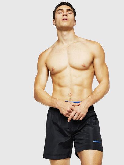 Diesel - BMBX-DOLPHIN, Black - Swim shorts - Image 1