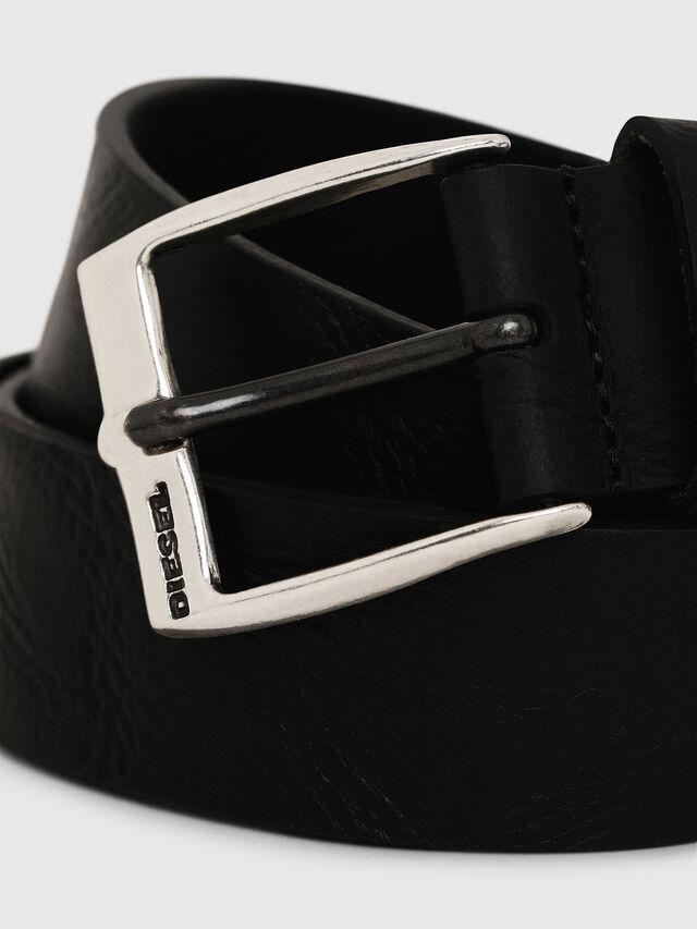 Diesel B-WHYZ, Black - Belts - Image 2