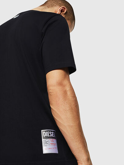 Diesel - T-JUST-B28, Black - T-Shirts - Image 3