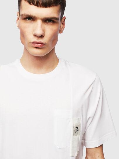 Diesel - T-RISEN, White - T-Shirts - Image 5