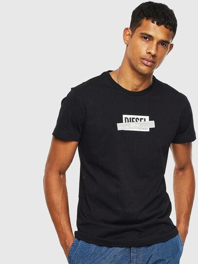 Diesel - T-DIEGO-S7, Black - T-Shirts - Image 1