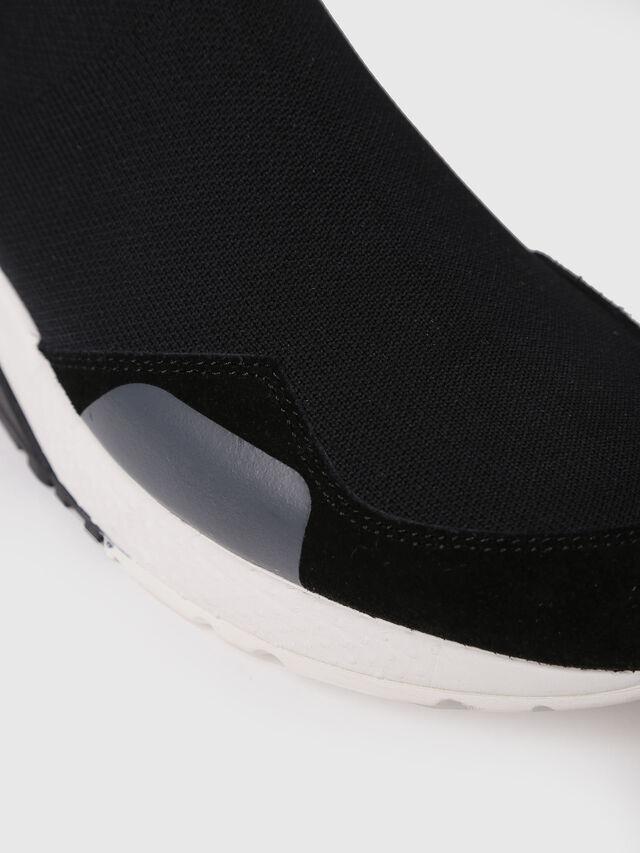 Diesel - S-KB SOCK, Black/Blue - Sneakers - Image 4