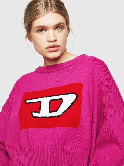 Diesel - M-LINDA, Pink Fluo - Knitwear - Image 3