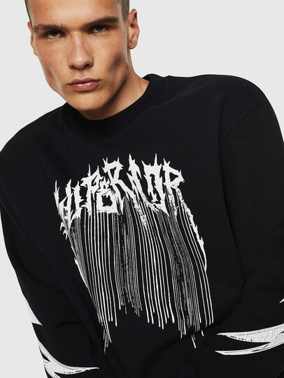 Diesel - S-BAY-B10, Black - Sweaters - Image 3