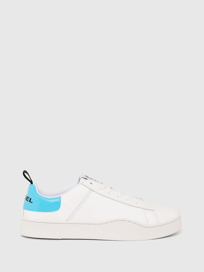 Diesel - S-CLEVER LOW LACE, White/Blue - Sneakers - Image 1