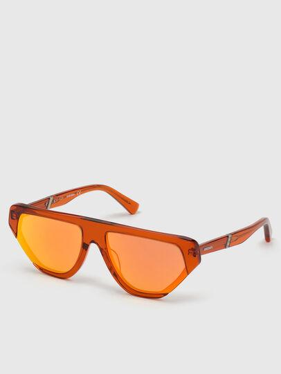 Diesel - DL0322, Orange - Sunglasses - Image 2