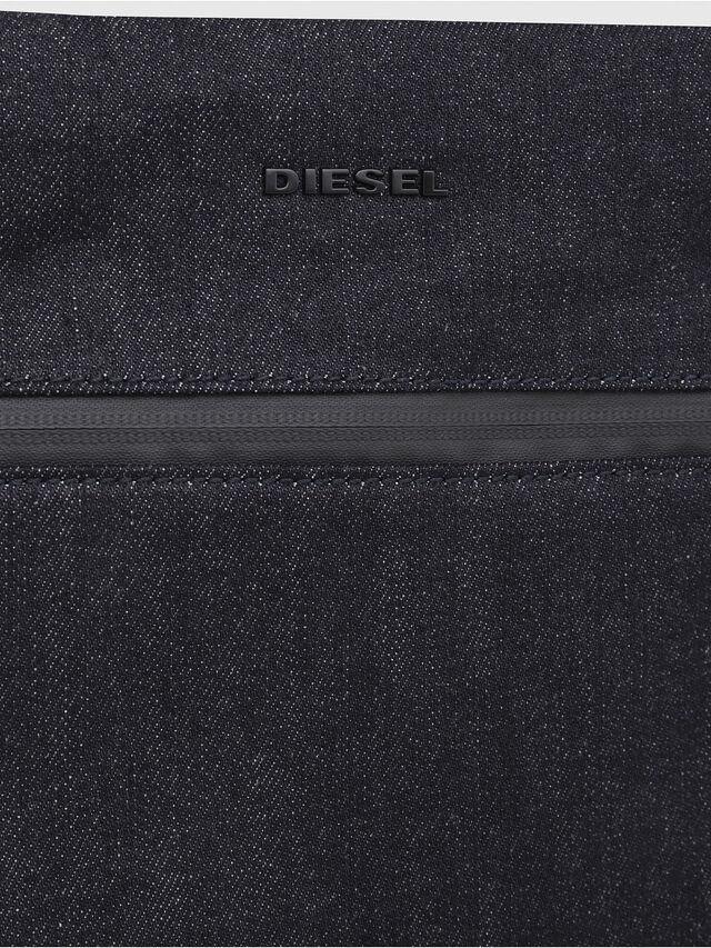 Diesel - D-SUBTORYAL CROSS, Blue Jeans - Crossbody Bags - Image 3