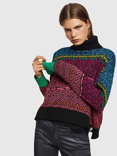 Diesel - M-CV-NORV, Multicolor - Knitwear - Image 1