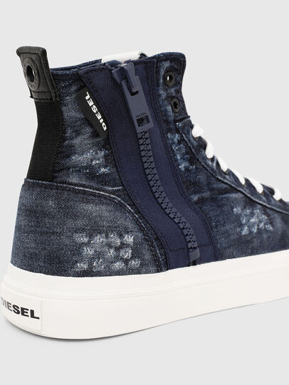 Diesel - S-ASTICO MID ZIP, Blue - Sneakers - Image 6