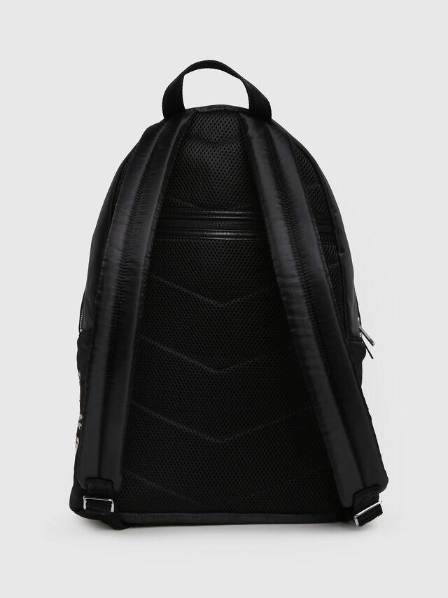 Diesel - M-TOKYO BACK TEKNO, Black/Red - Backpacks - Image 2