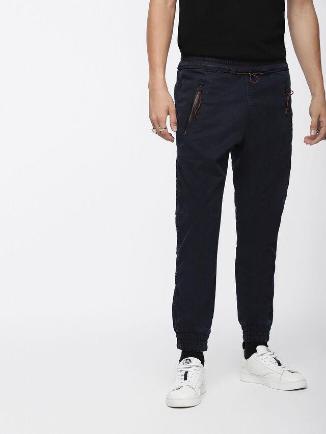 Diesel - Shaquil JoggJeans 0GASP, Dark Blue - Jeans - Image 1