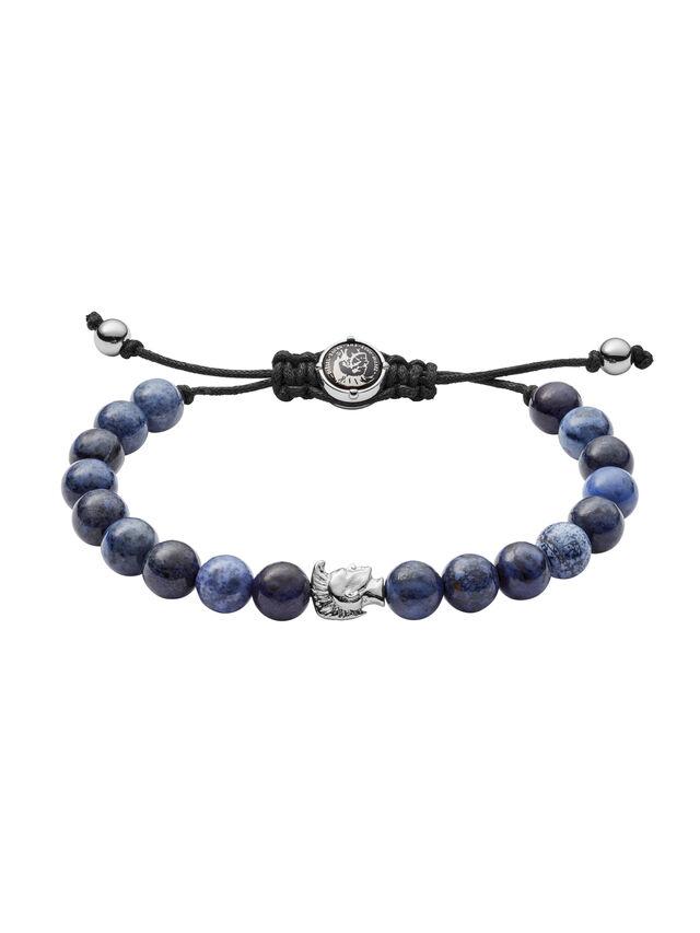 Diesel - BRACELET DX1068, Blue - Bracelets - Image 1