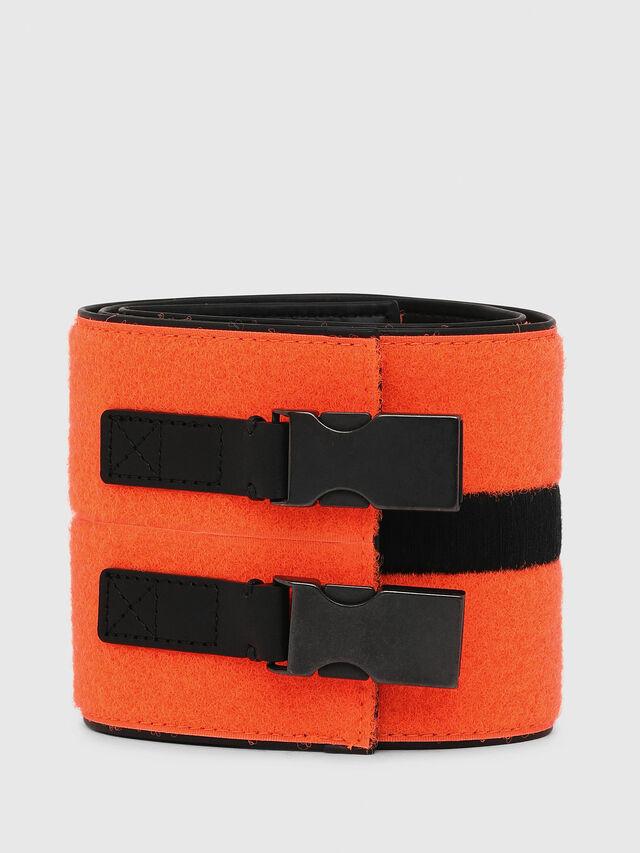 Diesel - B-USTINO, Orange/Black - Belts - Image 1