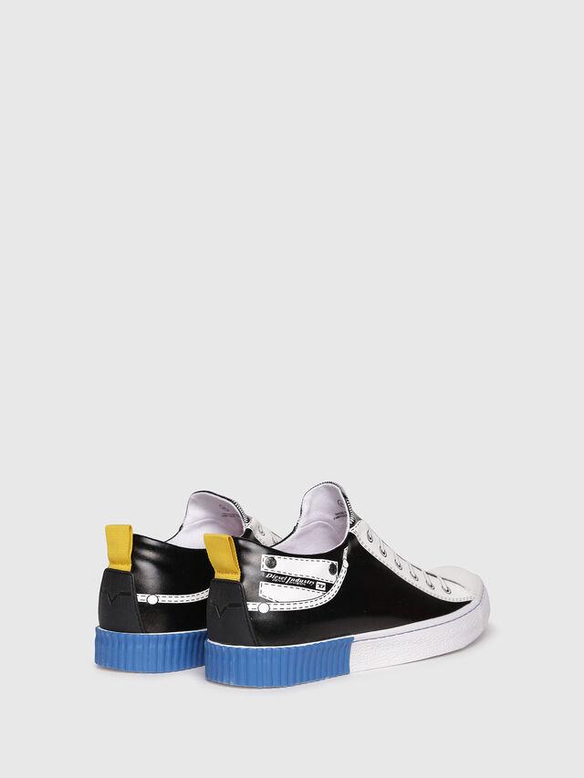 Diesel - S-DIESEL IMAGINEE LOW, Black/White - Sneakers - Image 3