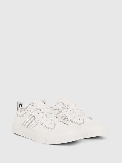 Diesel - S-ASTICO LOW LACE, White - Sneakers - Image 2
