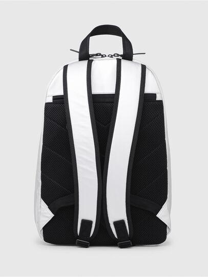 Diesel - F-BOLD BACK, Silver/Black - Backpacks - Image 2