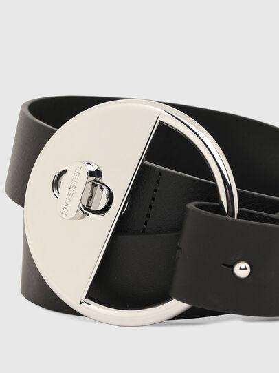 Diesel - B-DLOCK, Black - Belts - Image 2