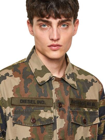 Diesel - J-FULLER-CMF, Military Green - Jackets - Image 3