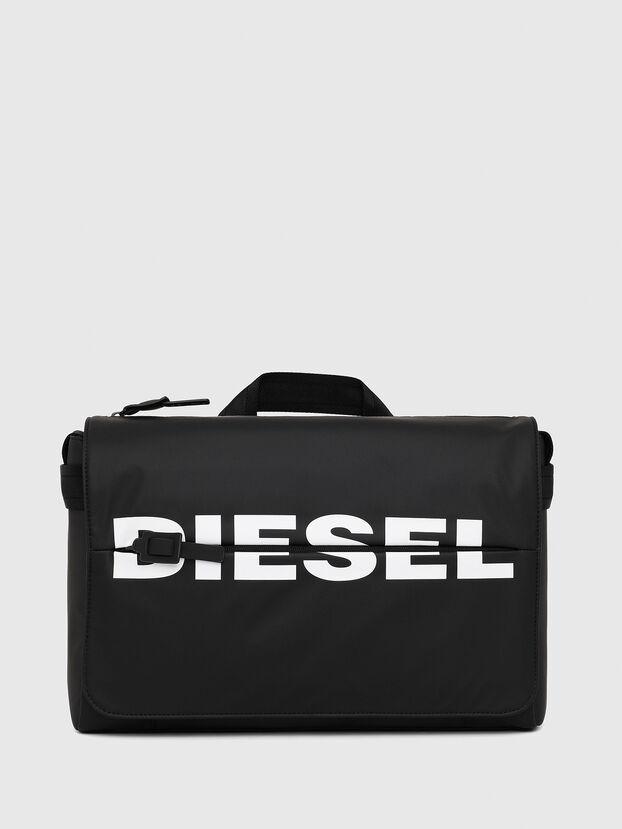 F-BOLD MESSENGER II, Black - Crossbody Bags