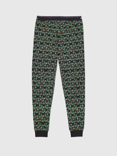 Diesel - UMLB-JULIO, Black/Green - Pants - Image 2